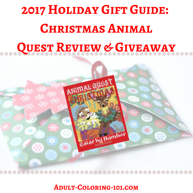 Enter For Your Chance To Win A SunquestDrawing Quest Coloringbook 5 Winners US CAN Christmas Giftideas HGG2017 Giveaway Sweeps