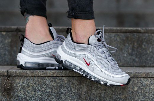 ... GMT Nike Air Max 97 OG QS Silver Bullet Womens https   thesolesupplier .co.uk release-dates nike nike-air-max-97-og-qs-silver-bullet-womens-885691-001   ... 88b9e5d1eb6b