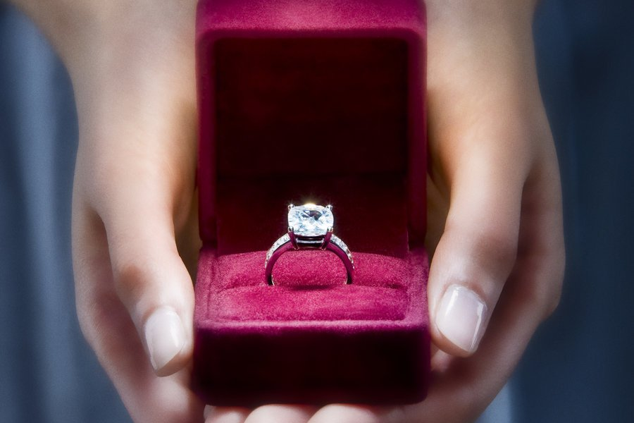 Фотография кольцо и сердце вам стать