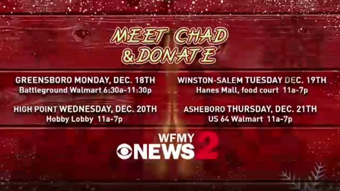 ChadSilber Is Ringing The Bell Until 1130 Tonight Donate To Red Kettle At Walmart On Battleground Ave ChadBellRingingTour2 Cant Come