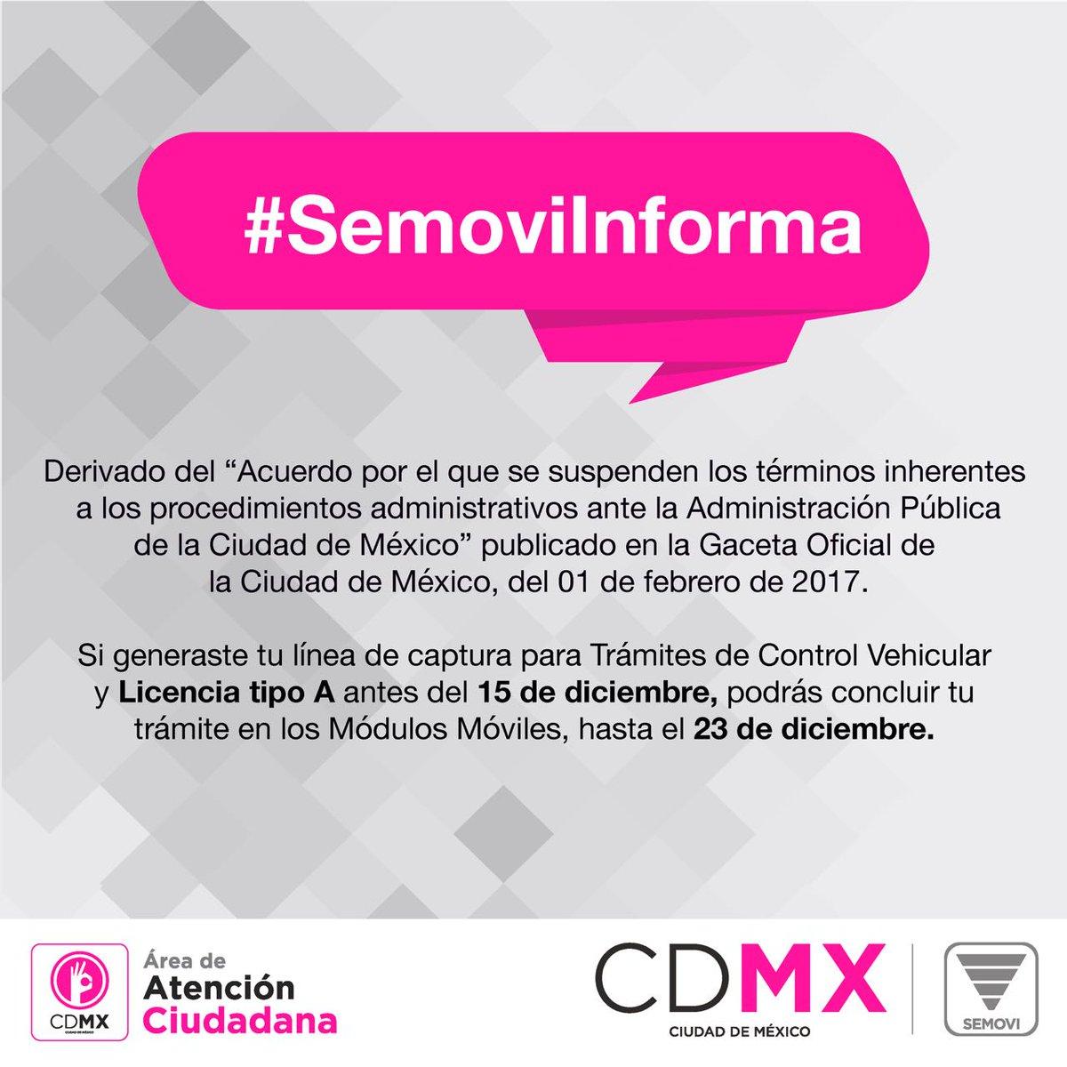 Secretaría De Movilidad Cdmx On Twitter Si Ya Realizaste