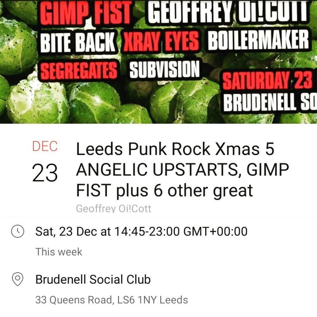 Deany dean deanydean twitter thexrayeyes playing this saturday at punkrock xmas with some kick ass ukpunkrock bands come catch the last bits of 2017 punk rock and drink some beers ccuart Image collections