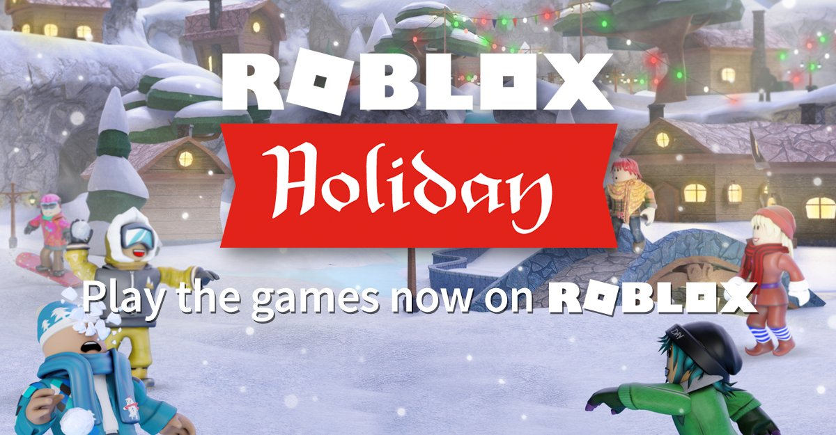 Roblox On Twitter Spread The Holiday Cheer And Earn - roblox event new