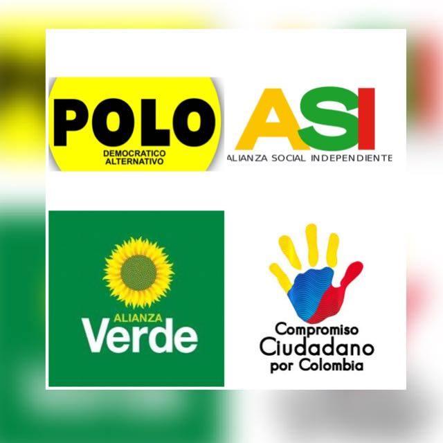Resultado de imagen para logo Coalición Alternativa Santandereana AS
