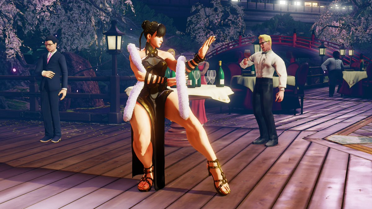 Street Fighter On Twitter The Last Two Chun Li Costumes Designed