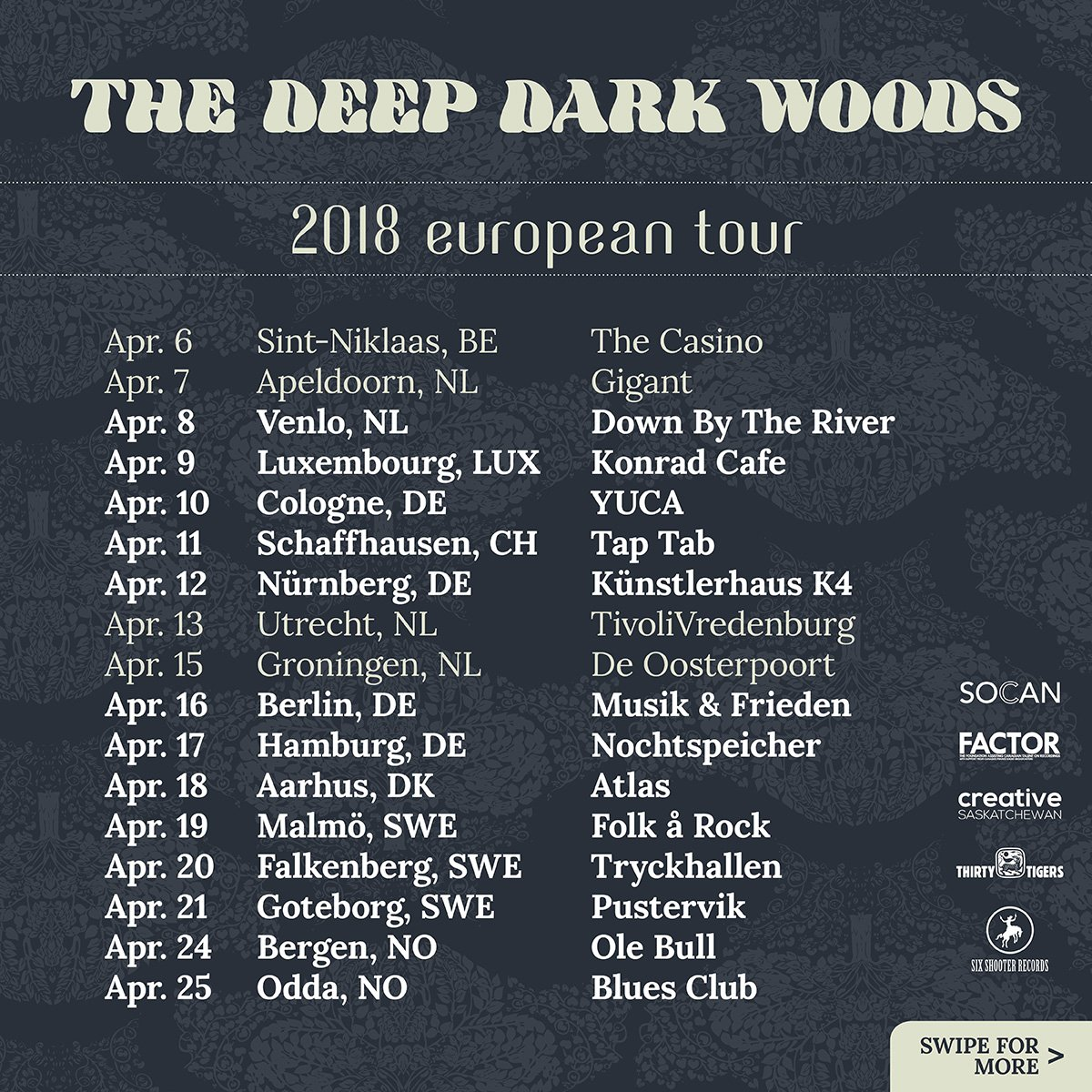 The Deep Dark Woods on Twitter: