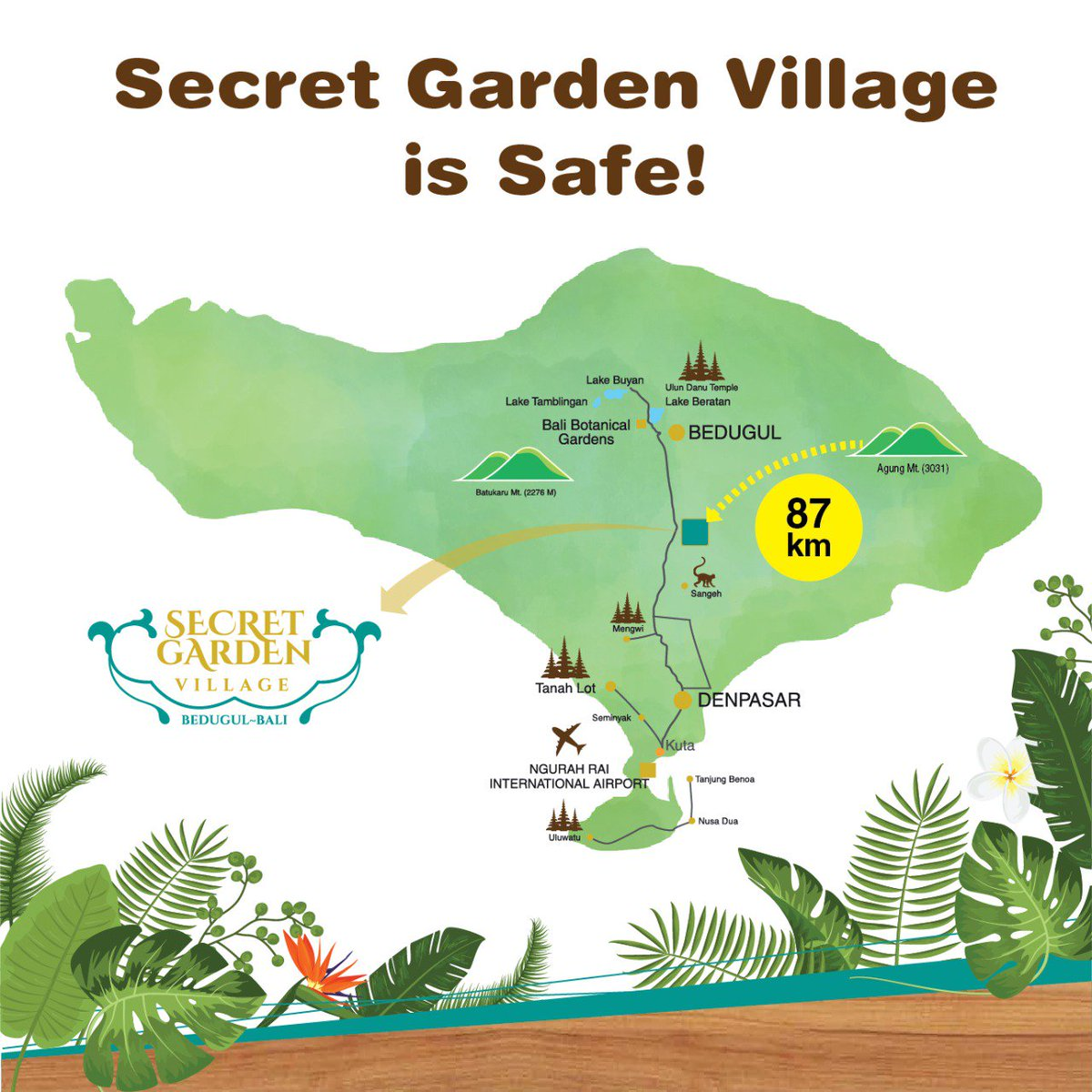 Herborist Natural Care A Twitter We Would Like To Kindly Inform You That Secret Garden Village Bedugul Bali Is Safe To Visit And We Have Several Promotional Events To Offer To