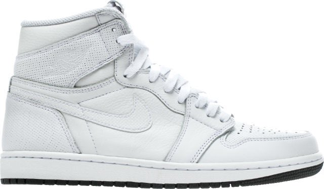 AIR JORDAN RETRO 1 OG PERFORATED PACK HI (WHITE BLACK)  59.98 Shipped Use e3c4c35c5f