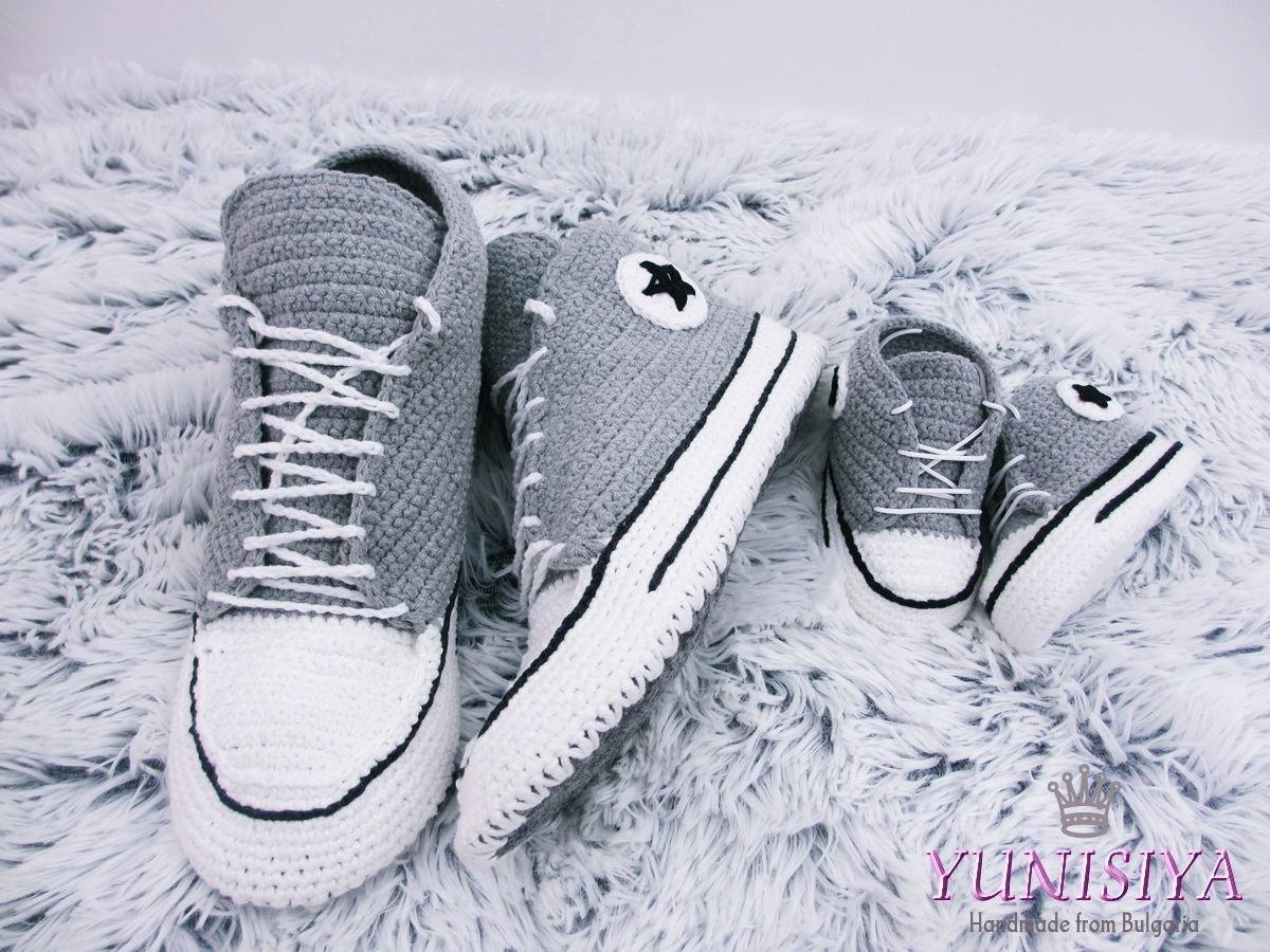 b23285e1da8 ... Crochet adult shoes Crochet Shoes Crochet Sneakers shoes slippers House  shoes House slippers men SLIPP14 http   etsy.me 2yVUXWS  clothing  shoes ...