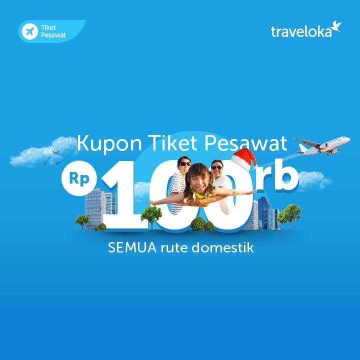 Traveloka Indonesia On Twitter Inibarutahunbaru Saatnya Pesan Tiket Pesawat Untuk Tahun Baruan Pesan Sekarang Dan Nikmati Diskon Rp100 000 Untuk Semua Rute Domestik Agar Perjalanan Makin Hemat Dan Berkesan Https T Co P85roinwcq Https T Co