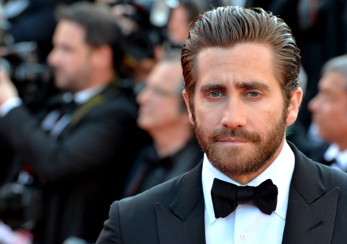 Jake gyllenhaal still has a hairy chest