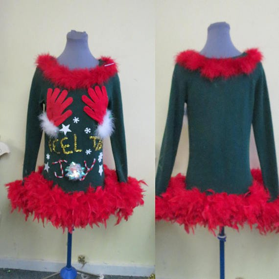 332 am 19 dec 2017 - Feel The Joy Christmas Sweater