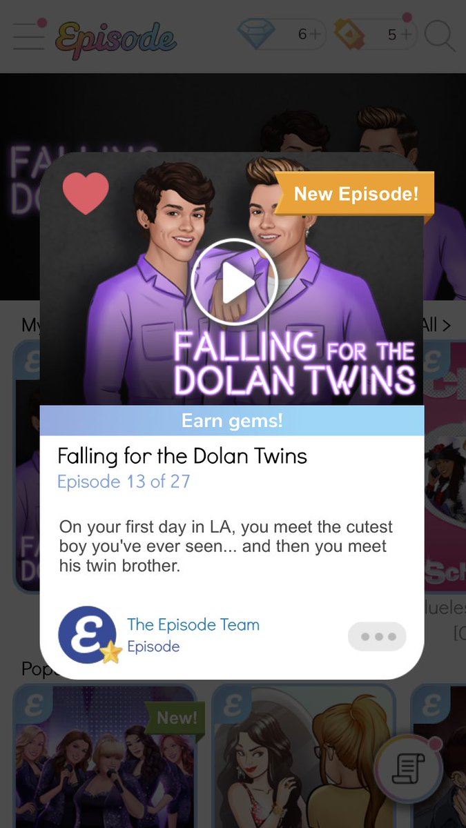 Dani On Twitter Just Found Out There Are New Episodes Of Falling For The Dolan Twins So Excited Graysondolan Ethandolan Episode