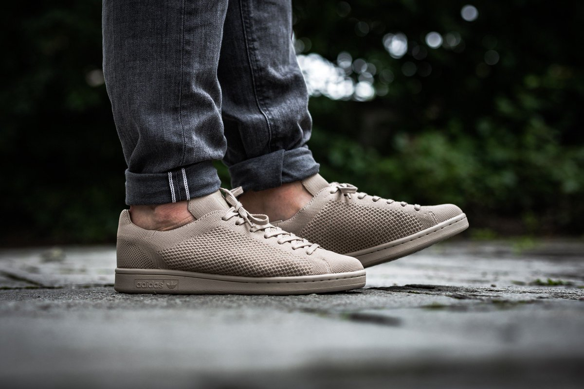 adidas Originals Stan Smith Primeknit - Clay Brown Shop now   http   bit.ly 2gdQY4l pic.twitter.com 4qZZHwt0J9 f5e32789b
