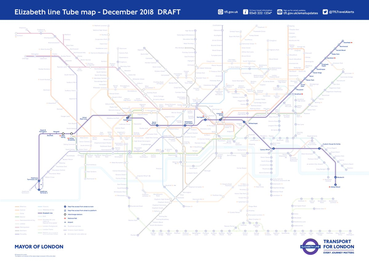 Transport For London Map.Transport For London On Twitter One Year To Go Until The Start Of