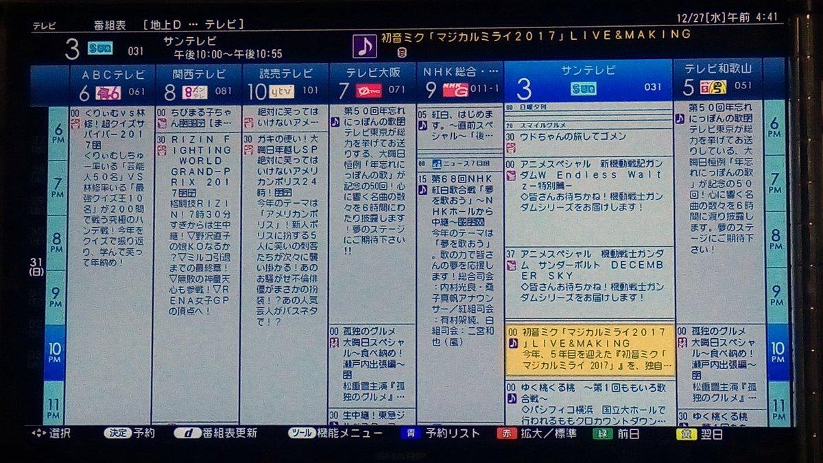 大阪 表 tv 番組