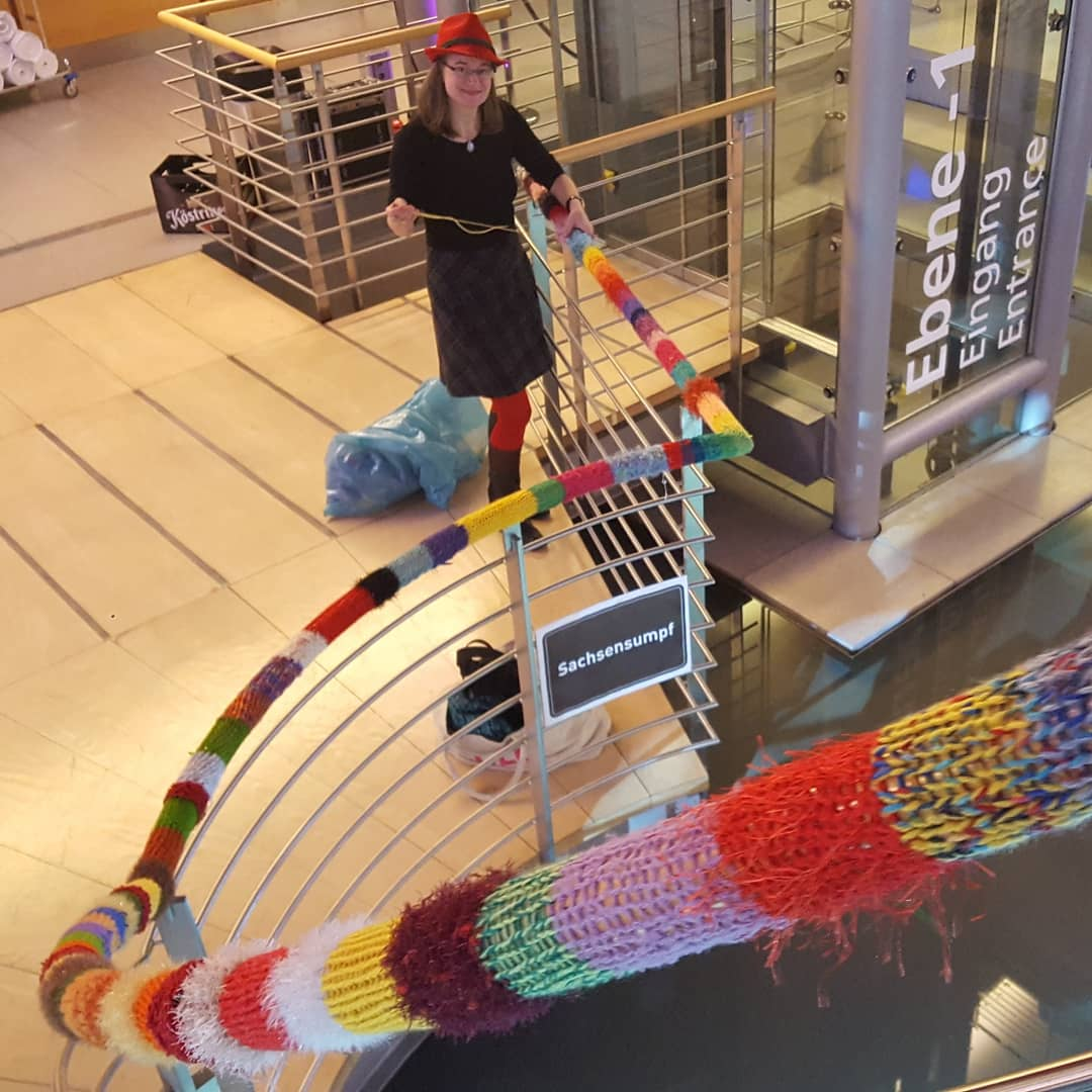 Image result for yarn bombing berlin