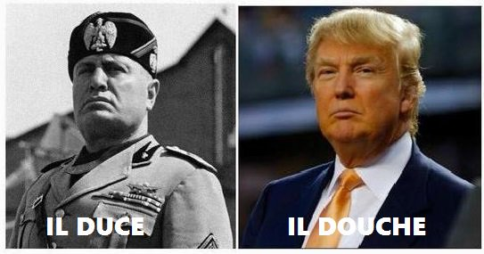 @GovMikeHuckabee @realDonaldTrump Please stop lying.  1) Churchill fought agaiinst Nazis; @realDonaldTrump  supports Nazis.  2) Chruchill told the truth @realDonaldTrump;  is a pathological liar.  Trump is actually America's Mussolini, only Trump is much more stupid and incompetent. https://t.co/ufzZfFAFro