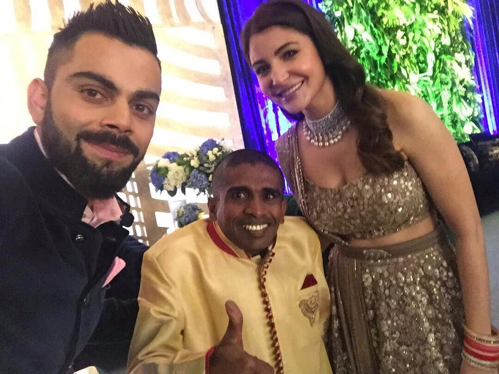 Virat Kohli Invites Special Guest From Sri Lanka At His Mumbai Reception