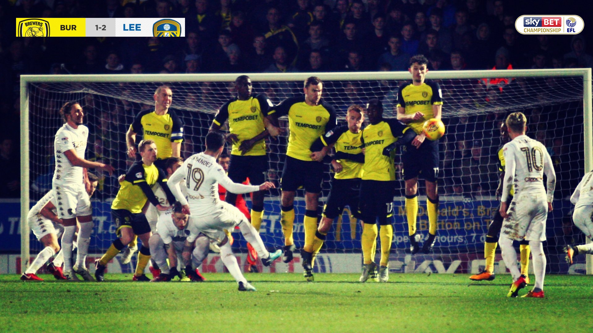 Burton Albion – Leeds 1-2