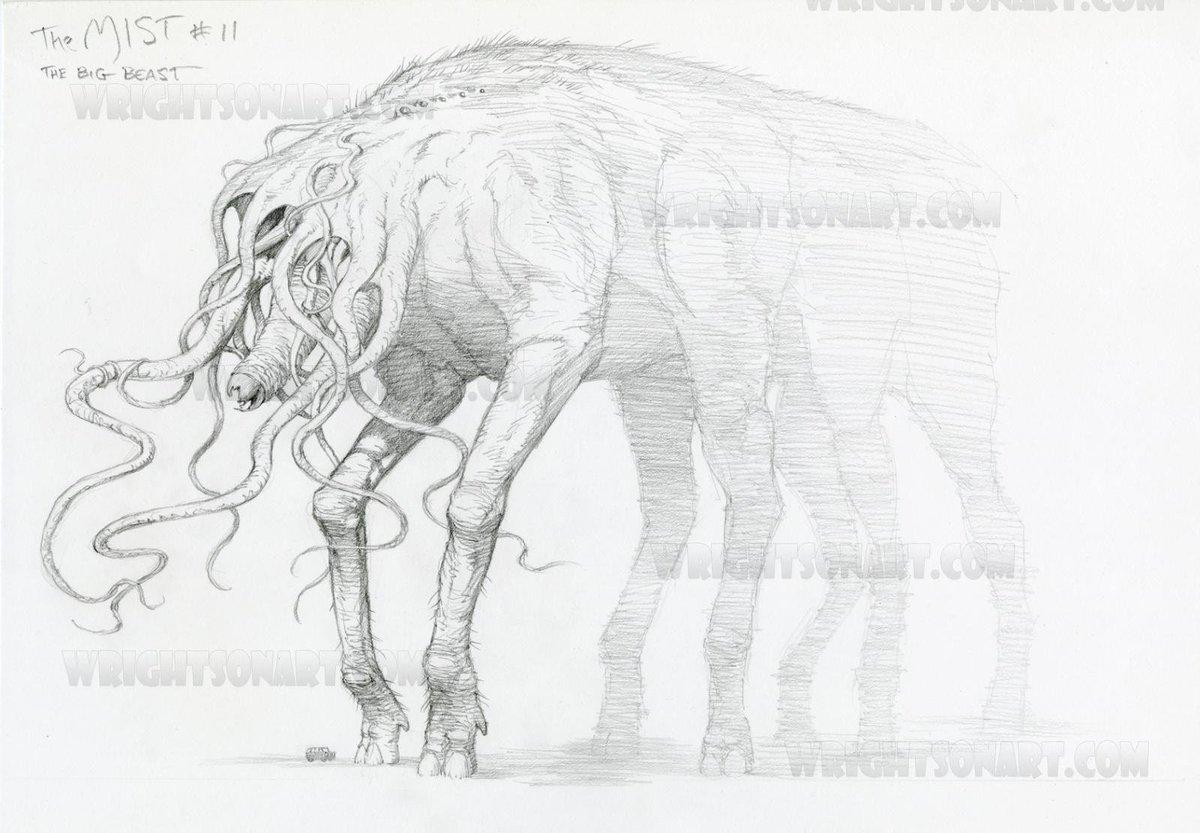 Aesthetic Sharer Zhr On Twitter Monster Design Draft Movie Mist