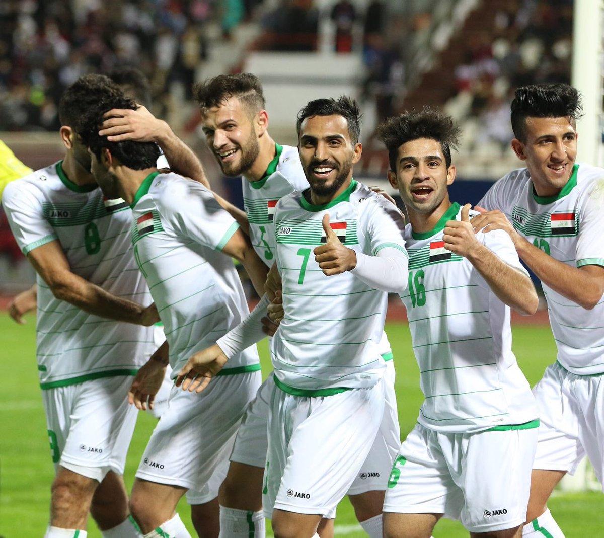 أهداف مباراة العراق وقطر