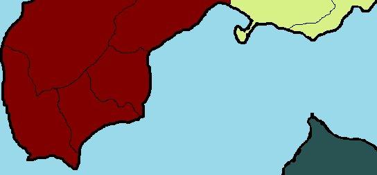 """世戸口政親 sur Twitter : """"1 渡島国 唯一の北海道。 赤茶色は安東氏 ..."""