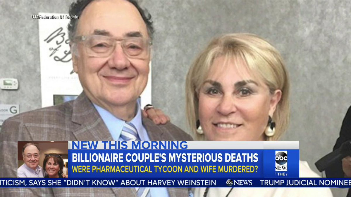 Canada: Police Investigate Deaths of Billionaire Couple | Baaz