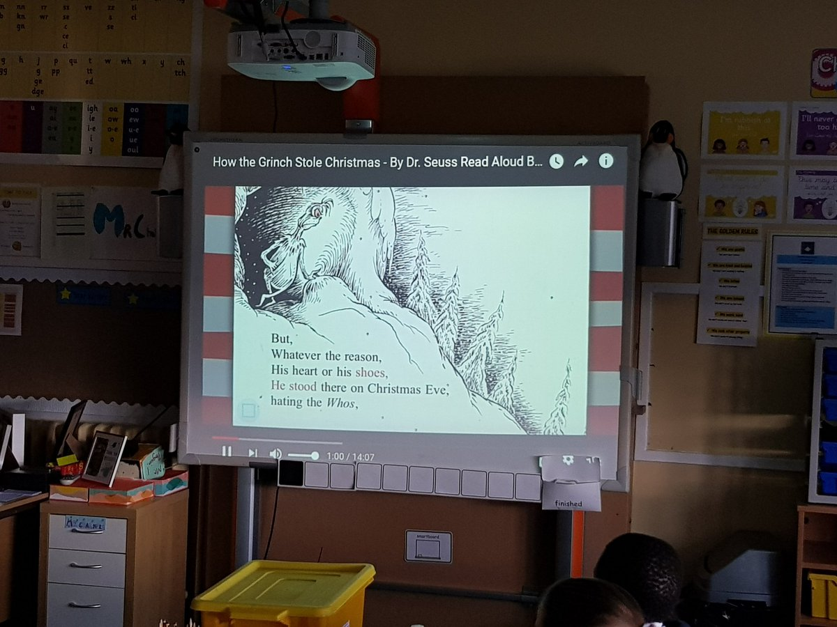 youtube stood in for mr chalmers sore voice also sparked a lovely discussion about what we love about christmas and the loneliest people in - How The Grinch Stole Christmas Youtube