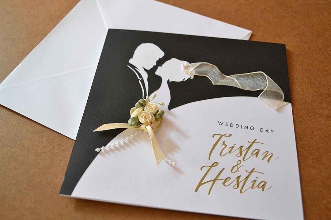 Дизайнерские открытки с днем свадьбы