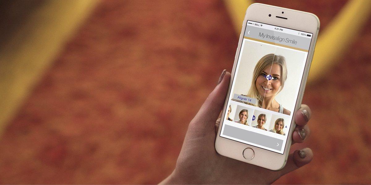 Si vous êtes un patient Invisalign®, pourquoi ne pas utiliser l'app mobile My Invisalign Smile pour suivre vos avancées et vous féliciter de vos progrès ?#Invisalign #aligners #smile #sourire #app #evolution #myinvisalignsmile https://t.co/VRV1Nco27j