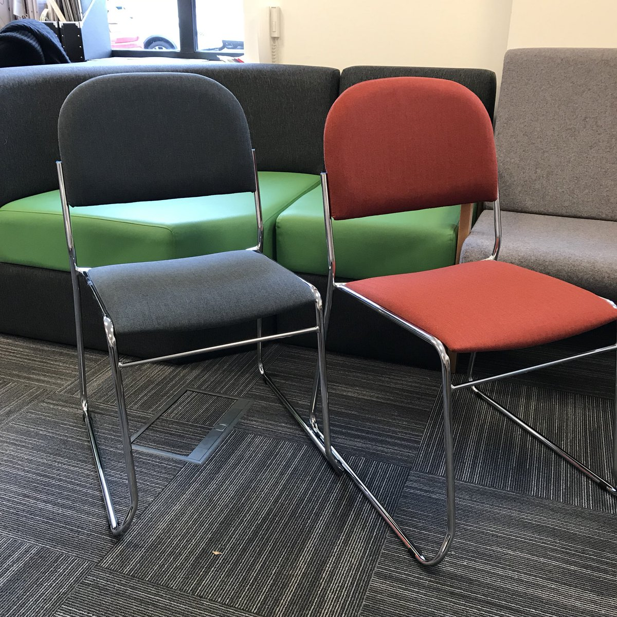 Rosehill Furnishings on Twitter  New #lightweight stacking chair s&les in the showroom looking smart in the #aquaclean Chester fabric rangeu2026   & Rosehill Furnishings on Twitter: