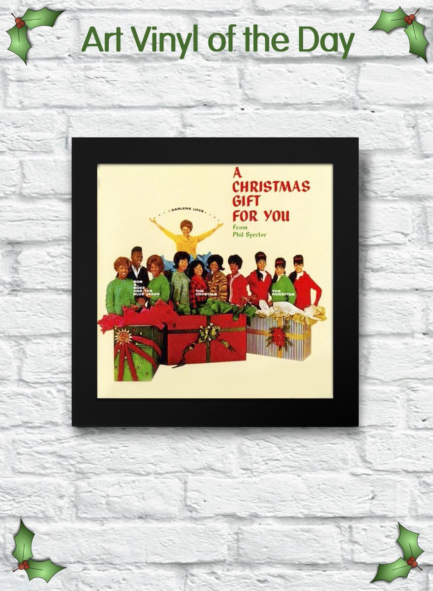 A Christmas Gift For You From Phil Spector.Art Vinyl On Twitter Art Vinyl Of The Day Phil Spector