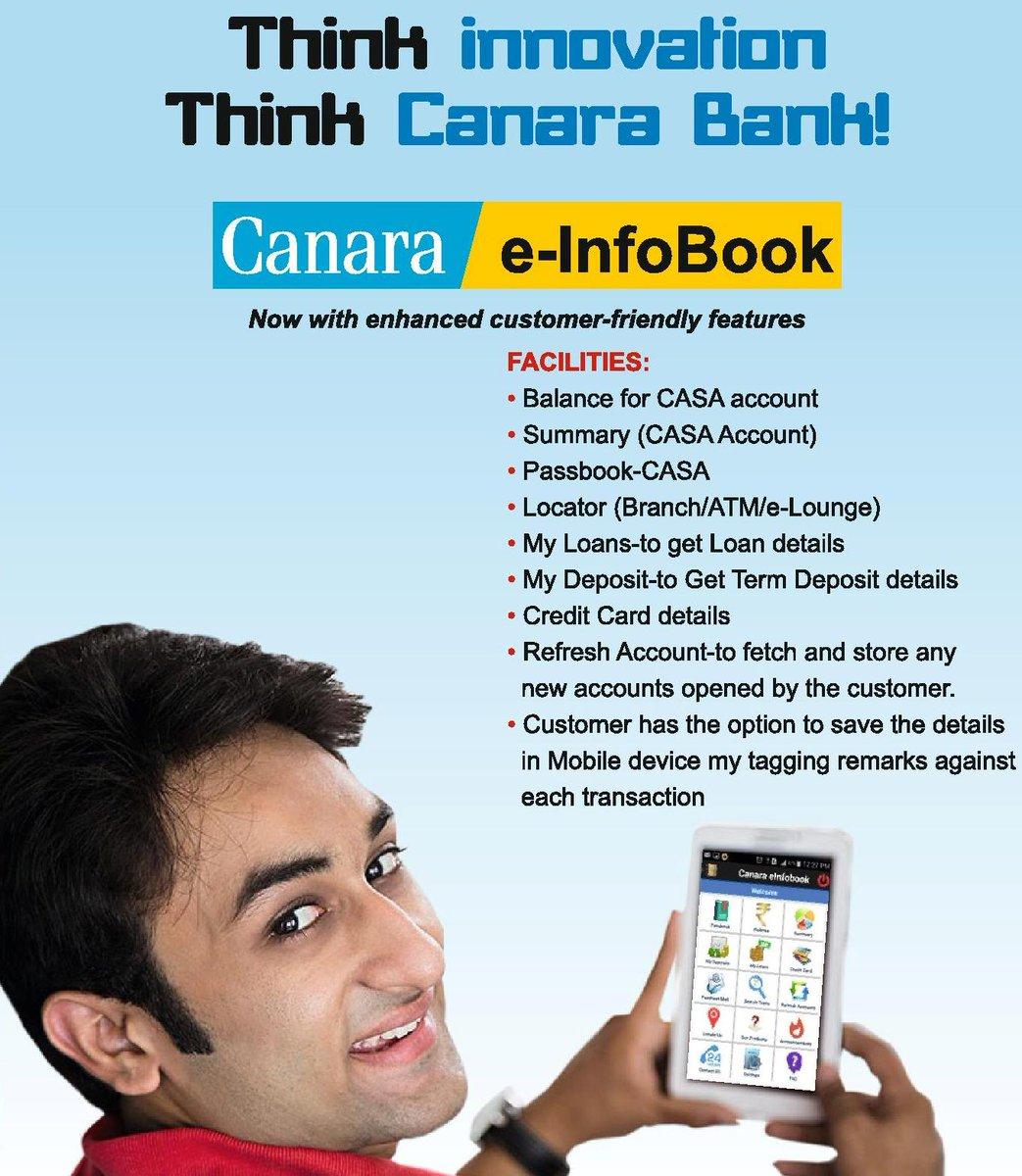 Canara E Info Book