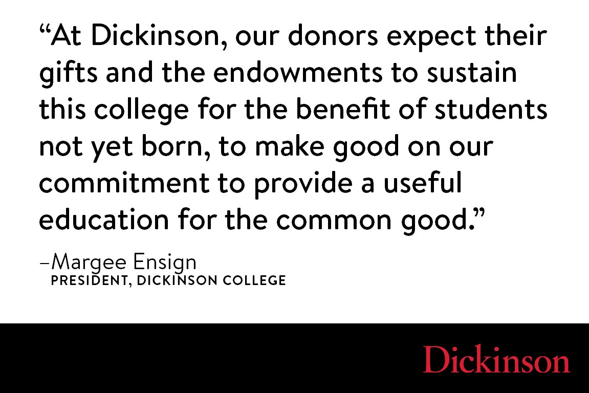 Dickinson media on twitter in her latest huffpost op ed dickinson media on twitter in her latest huffpost op ed dickinsoncol president margee ensign explains why college endowments are a symbol of trust biocorpaavc Choice Image