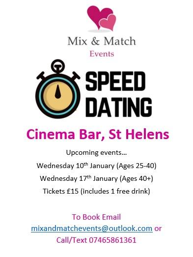 speed dating st helens