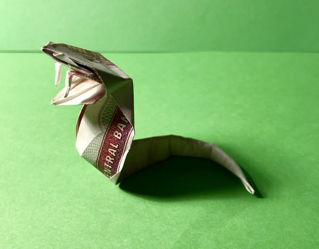 I Asped When I Saw These Incredible Origami Snakes | 800x1024