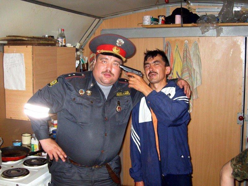 Прикол, смешные картинки про милицию полицию