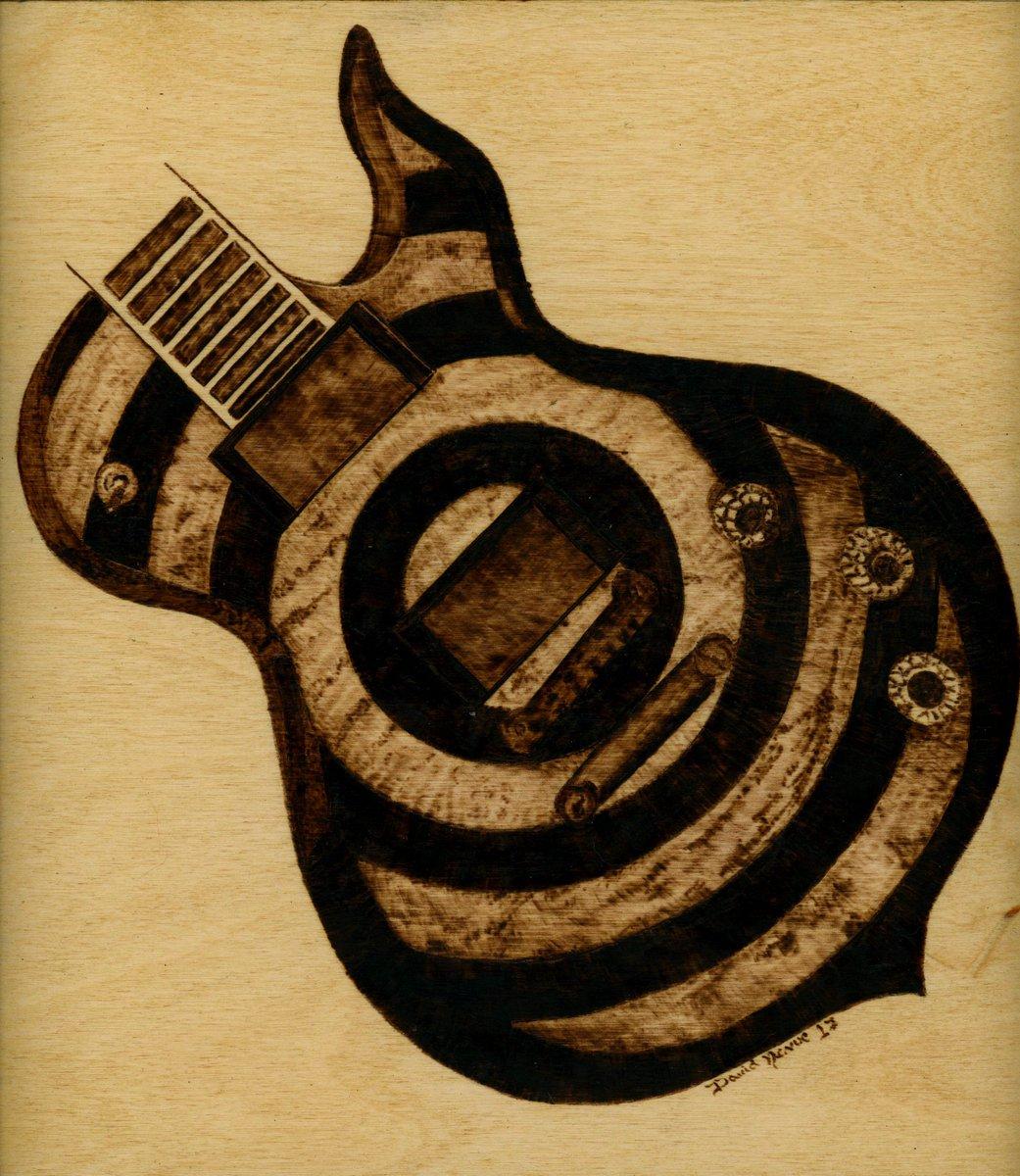 Woodburning Of One My Guitar Students Guitarpictwitter VcVQipoKjs