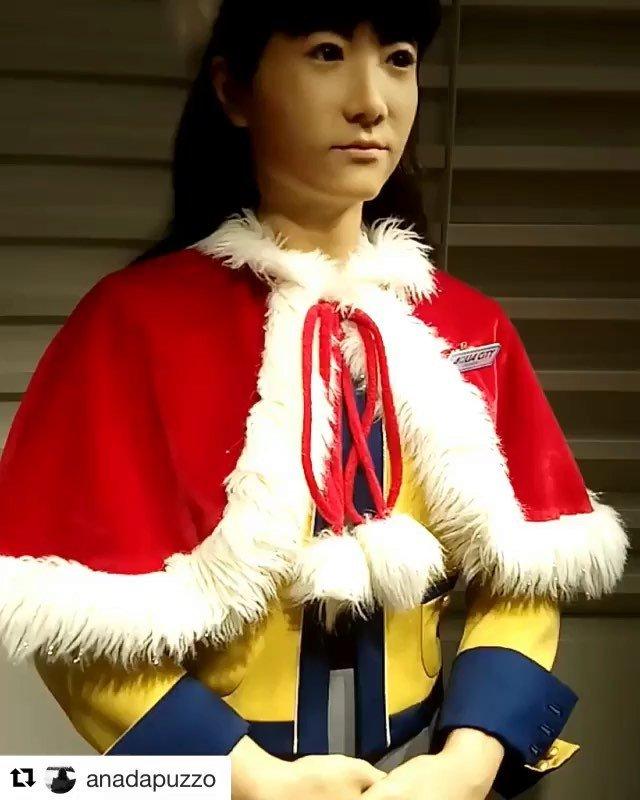 RT @levinchin: #Repost @anadapuzzo (@get_repost) ・・・ Merry Christmas  from Odaiba  Lady Robot #merrychristmas #odaiba #robot #tokyo #robothuman #hightech #tokyo #aquacityodaiba Watch #Instavideo:http://ift.tt/2BevJsJpic.twitter.com/5o0cc2IZvy
