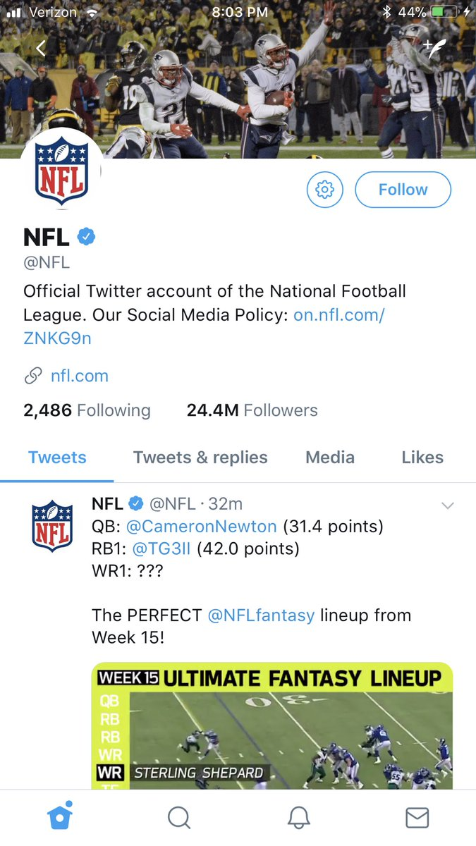 THE @NFL IS RIGGED!
