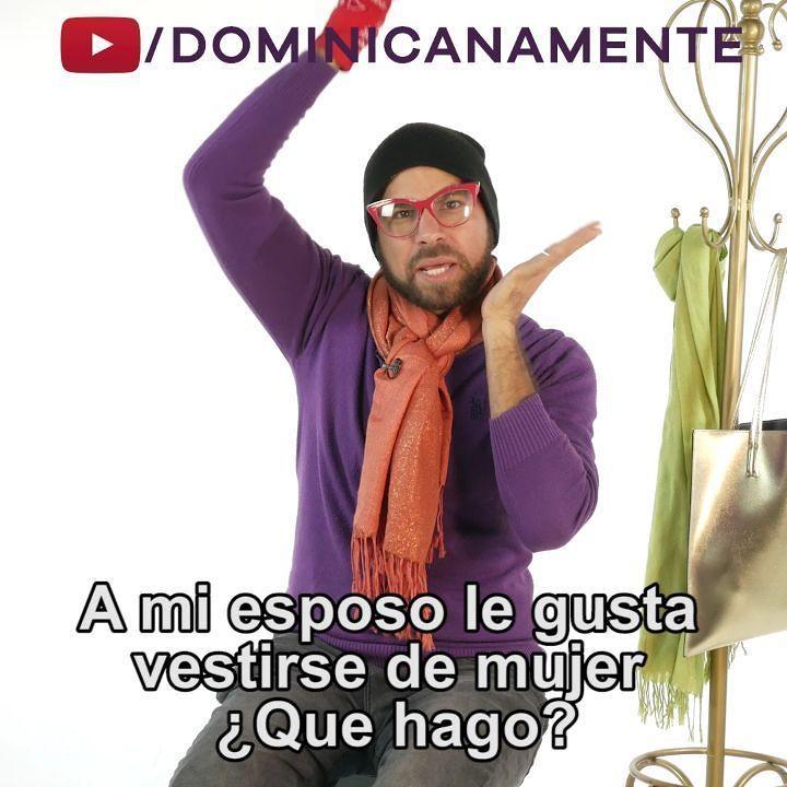 """dominicanamente on twitter: """"a mi esposo le gusta vestirse de mujer"""