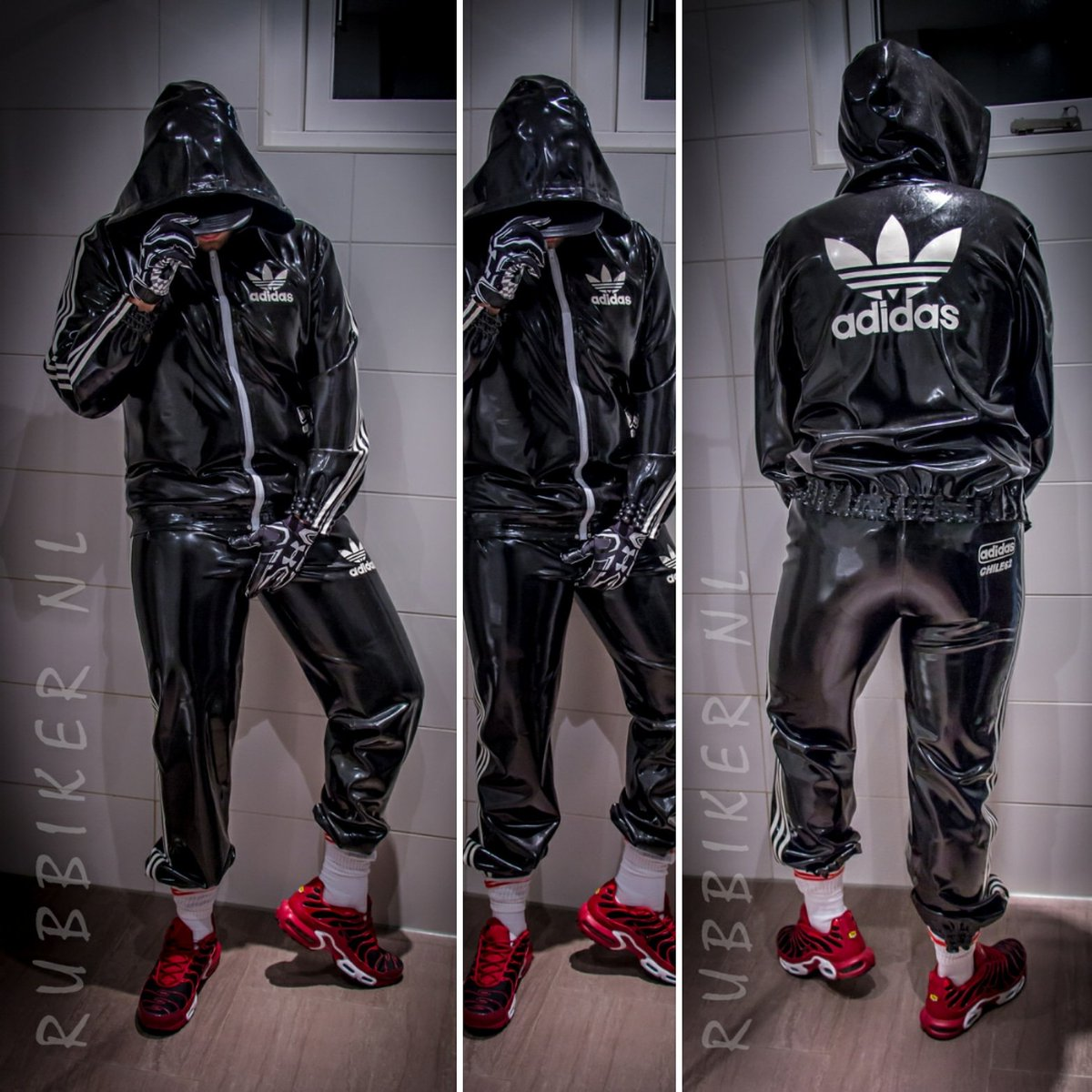 My new #Rubber #Adidas #Chile suit
