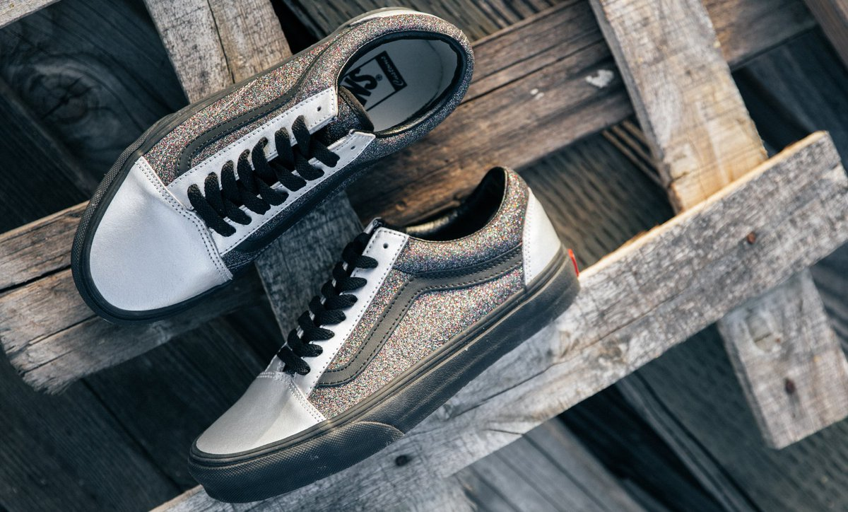 bb21822b9b Add some sparkle with the Vans Customs Shop  design your perfect pair of  Vans