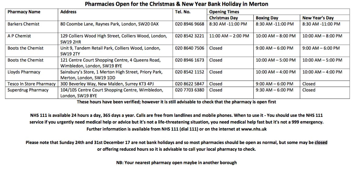 mps pharmacy on twitter its beginning to look a lot like christmas so why not take a look at which pharmacies are open during the festive season in - Pharmacy Open Christmas Day