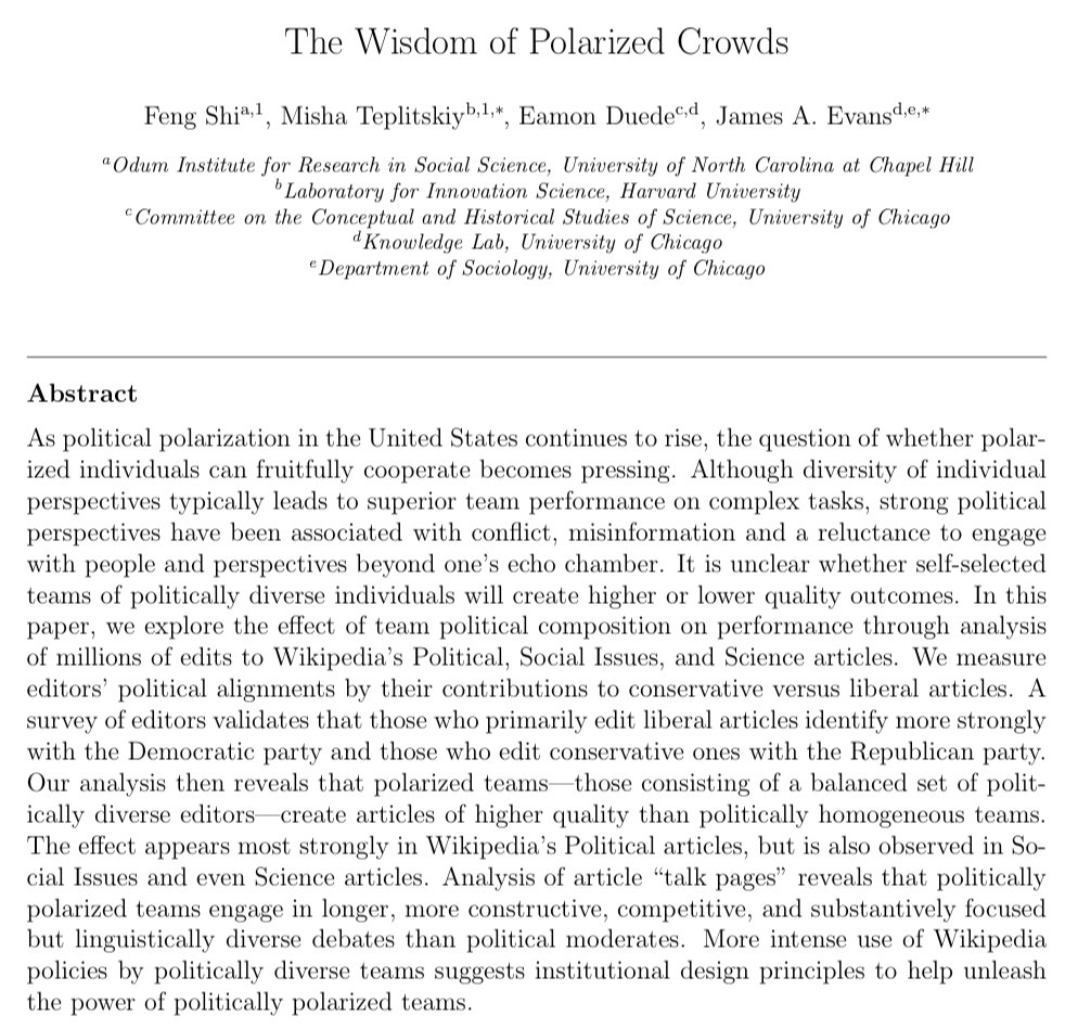 a study on the concept of political polarization Does the electoral rule matter for political polarization the case of brazilian legislative chambers 82 (2015) 9 (2) 81 – 108 his article explores the influence that particular electoral rules may.