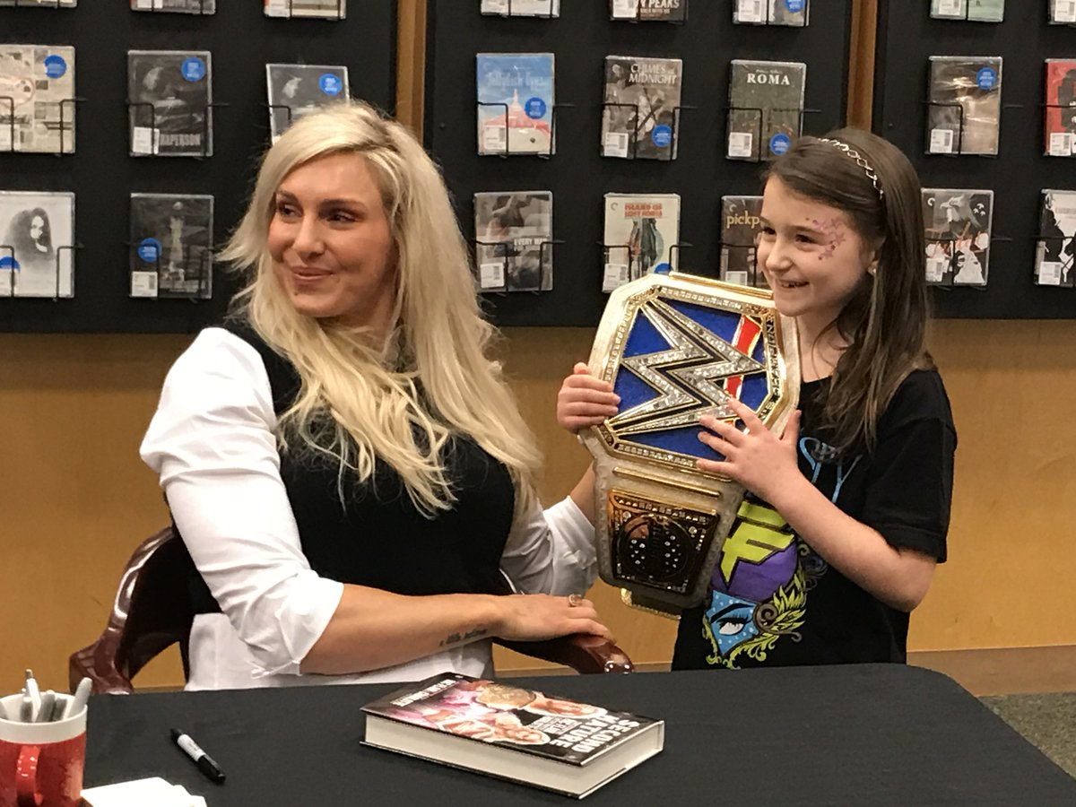 @MsCharlotteWWE meets her opponent for #ClashofChampions 2030! #SecondNature 👑