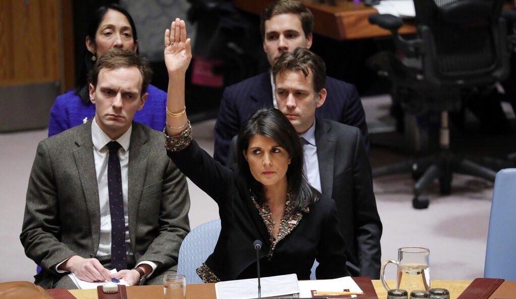 Trump Ancam Negara Pendukung Resolusi PBB Terkait Yerusalem
