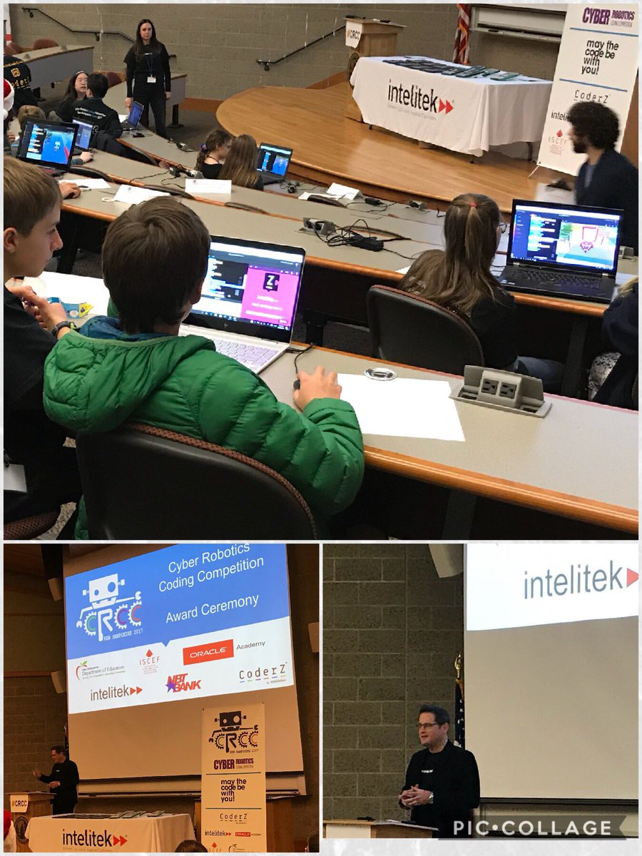 Pam Pelletier On Twitter At Cyber Robotics Coding Competition