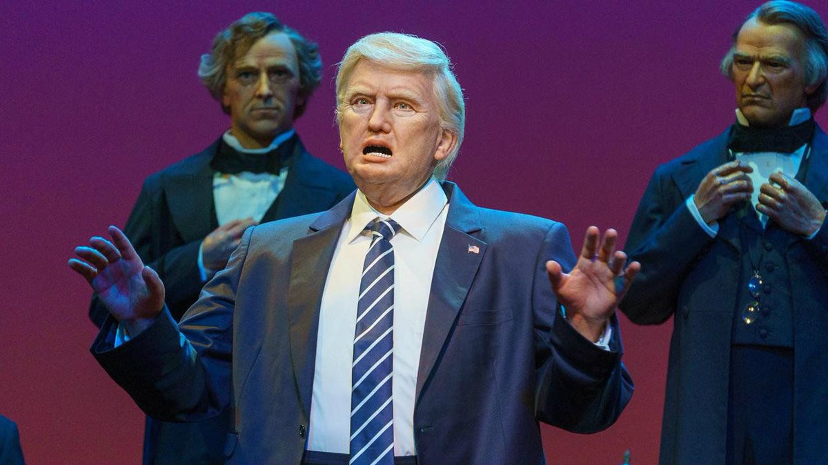 So, where to start.  This is our scary AF leader and I want to send my heartfelt thanks to @Disney for totally screwing it up!  This is AWESOME!!!!! #ImpeachTrump  #whatanidiot  #IfreakingLoveThis https://t.co/cUqWHRVgyf